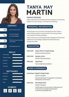 Photos Of Resume Sample Free Professional Resume And Cv Template In Psd Ms Word
