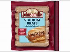 Stadium Style Cooked Brat Links   Johnsonville.com