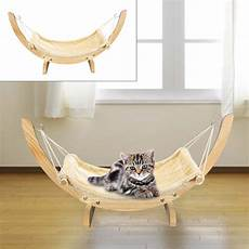 cat hammock chair with wooden frame siesta large cat plush