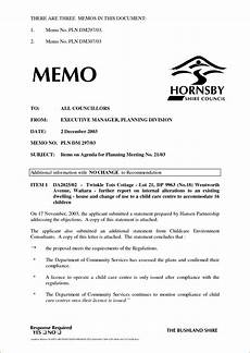 Example Business Memos How Is A Business Memo Format Written