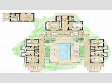 Hacienda Style Home Floor Plans Spanish Style Homes with Courtyards, island home floor plans