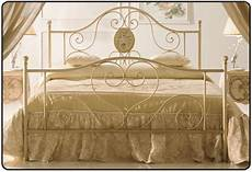 da letto seconda mano letto esmeralda 160 fisso in ferro colore avorio con