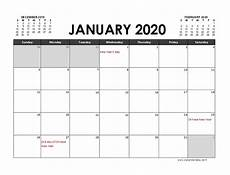Planner Template 2020 2020 Excel Calendar Planner Malaysia Free Printable