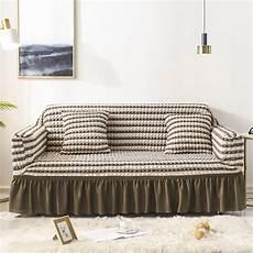 Sofa Floor Protector 3d Image by Lattice Elastic Sofa Covers Slipcover Fashion