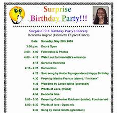 Programme Itinerary Template 11 Birthday Itinerary Templates Free Sample Example