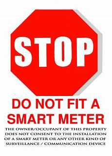 Printable Sign Printable Signs Stickers 171 Stop Smart Meters Uk