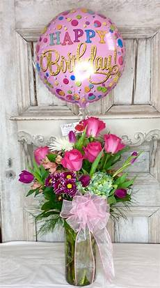 Happy Birthday Image For Her Happy Birthday Balloon Amp Flowers Designer Choice By