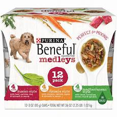 Beneful Puppy Food Chart Beneful Medleys Variety Pack Dog Food 12 3 Oz Cans