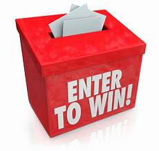 Enter The Raffle Enter To Win Red Raffle Lottery Box Entry Forms Tickets