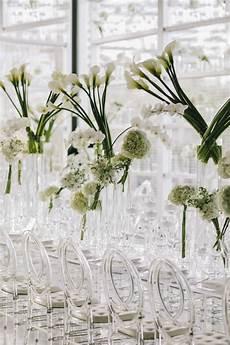 Words To White Wedding Modern White Wedding With Clear Decor Elegantwedding Ca