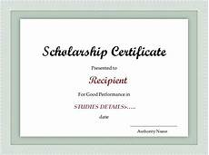 Years Of Service Certificate Scholarship Certificate Template Excel Xlts