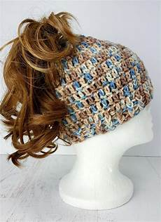easy to crochet quot bun quot hat allfreecrochet
