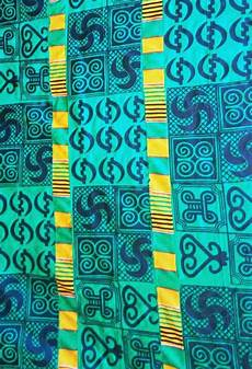 Adinkra Cloth Designs Green Adinkra Cloth New Design African Imports
