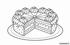 Malvorlage Torte Geburtstag Quot Torte Malvorlage Quot Stock Photo And Royalty Free Images