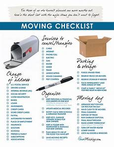 Packing To Move Checklist Moving Part 2 Change Of Address Services To Stop