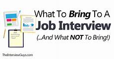 Should I Call After An Interview What To Bring To A Job Interview And What Not To Bring