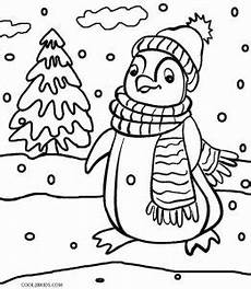 printable penguin coloring pages for