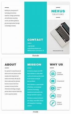 Information Pamphlet Template Pamphlet Maker For Non Designers Online Pamphlet Maker