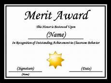 Merit Certificate Sample Free Samples Merit Certificate Template