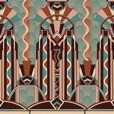london art deco jungle wallpaper tattahome