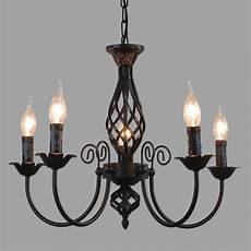 Derrow 3 Light Led Chandelier European Iron Chandelier Led Lamps Simple Living Room