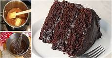 an easy way to make classic chocolate cake recipe