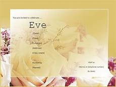 Invitation Software Free Download Business Invitation Templates Free Word S Templates