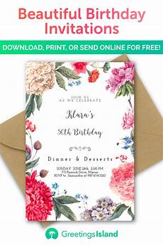 Design My Own Party Invitations Create Your Own Birthday Invitation In Minutes Download