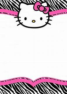 Hello Kitty Birthday Template Hello Kitty Free Printable Invitation Templates
