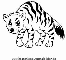 ausmalbild tiger 2 zum ausdrucken
