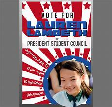 Student Council Poster Template 30 Images Of Student Council Treasurer Poster Template