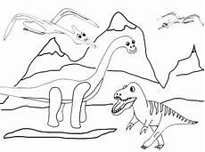 Dinosaurier Malvorlagen Zum Ausdrucken Ausmalbilder Dinosaurier 17 Ausmalbilder