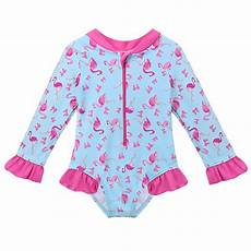toddler sleeve swimsuit new lovely toddler flamingo swimwear one