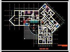 2d Cad Hospital Layout Design DWG File   Autocad DWG   Plan n Design