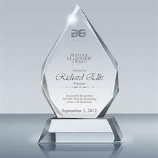 Appreciation Award Leadership Award Crystal Majestic Plaque 006