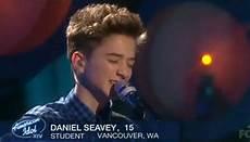 Go Light Your World American Idol Daniel Seavey Sings Lost Stars On American Idol Top 10