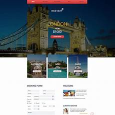 Free Travel Samples Travel Agency Free Responsive Website Template