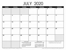 Calendar 2020 For Word 2020 Calendar Templates And Images