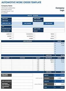 Work Order No 40 Work Order Template Free Download Word Excel Pdf