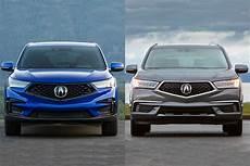 Acura Rdx 2019 Vs 2020 by 2019 Acura Rdx Vs 2019 Acura Mdx S The Difference