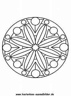 ausmalbilder malvorlagen mandalas zum ausdrucken mandala 3