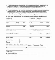 Simple Partnership Agreement Free 12 Sample Domestic Partnership Agreement Templates