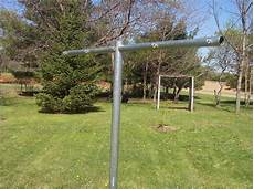 heavy duty clothes line heavy duty t post clothesline poles clotheslines