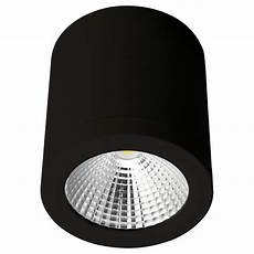 Surface Can Light Neo 13 Watt Dimmable Surface Mounted Led Downlight Black