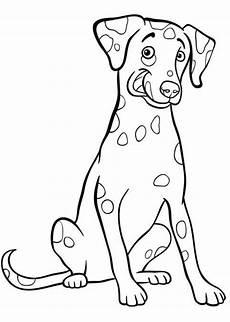 Ausmalbilder Hunde Dalmatiner Ausmalbilder Dalmatiner 1 Tiere Zum Ausmalen