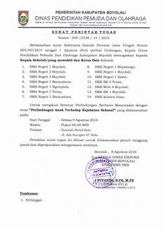 info sma smk kabupaten boyolali surat tugas seminar