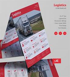 Flyer Formate Excellent Logistics Flyer Templates Word Psd Ai Eps