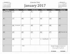 Vertex42 Calendar Printable 2017 Wall Calendar Template By Vertex42 Com