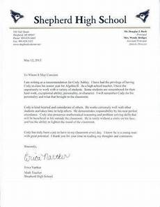 Recommendation Letter For Student From Employer Simple Student Recommendation Letter Example1