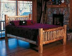 cedar log bed kits headboard only rustic furniture